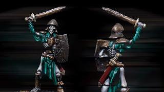 getlinkyoutube.com-How to paint Kings of War Skeleton by Lester Bursley