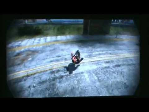 Skate 3 skydive tutorial on Xbox-360