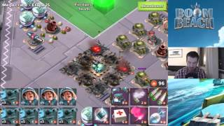 getlinkyoutube.com-BOOM BEACH | MEGA CRABE - NIVEAUX 11 A 20 ! HARDCORE !