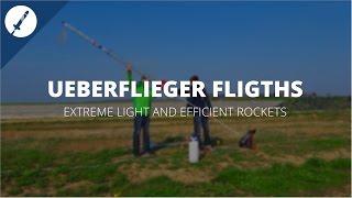 Best flights of our Ueberflieger Water Rockets