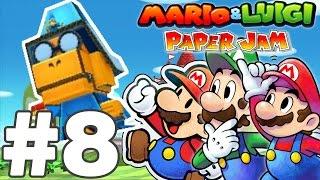 getlinkyoutube.com-TITANCARTON LUIGI & KAMEK - MARIO & LUIGI PAPER JAM BROS Episode 8 FR Nintendo 3DS & 2DS