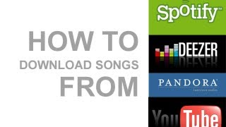 how to download song from youtube to spotify