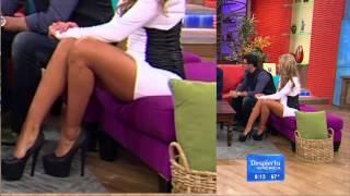 getlinkyoutube.com-Ximena cordoba sexy legs!!!!!