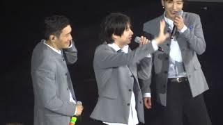 [HD FANCAM] SuperShow7 Manila - Talk (Dancing to H.O.T)