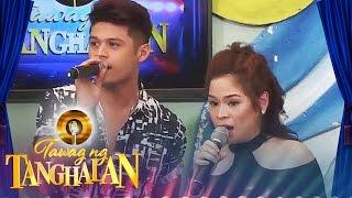 "getlinkyoutube.com-Tawag ng Tanghalan: Jon and Jennie sing ""Bakit Ngayon Ka Lang"""