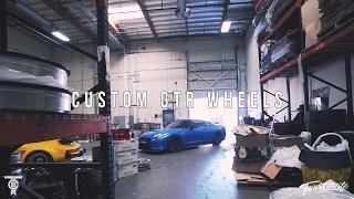 getlinkyoutube.com-GETTING CUSTOM GOLD GTR WHEELS! EXPLORING A WHEEL FACTORY