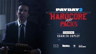 Payday 2 - Hardcore Henry Packs Trailer