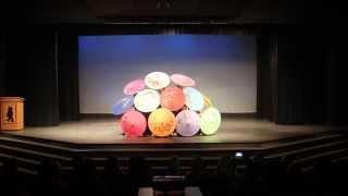MSU Performance 2013 - Umbrella Dance