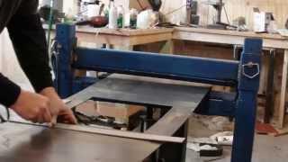 getlinkyoutube.com-homemade press brake with reverse ram operation