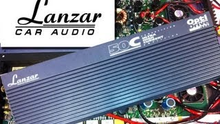 getlinkyoutube.com-Old School Lanzar Opti Drive 50c Ultra High Current Cheater Amp RMS Power Output Test SMD DD-1