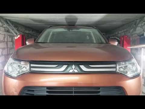 Mitsubishi Outlander III 2013 год 2,0 бензин. Замена масла в вариаторе.