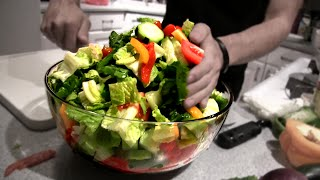 getlinkyoutube.com-Epic Greek Salad (4,000 Calories)