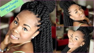 getlinkyoutube.com-Havana Twists with Braided Base LIKE A BOSS || Simple Step by Step Tutorial