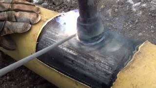 getlinkyoutube.com-Pipeline Welding  -  In-Service Welding   -  Hydrogen Sulphide (H2S) Hot Tap