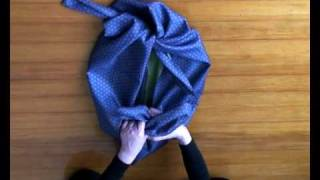 Furoshiki 1 Basic knot & Wrapping