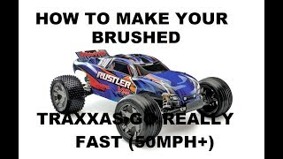 getlinkyoutube.com-How to make your brushed Traxxas go fast (50+ MPH) on E-Rc