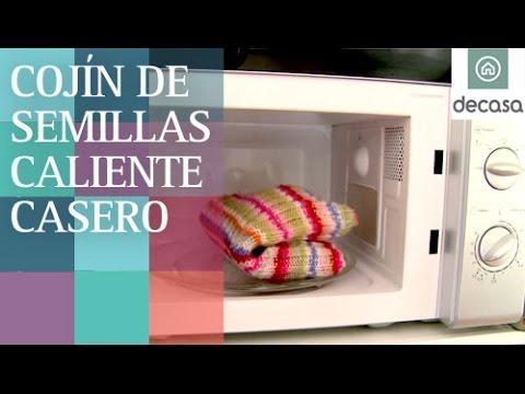 Cojín de semillas casero para calentar en microondas   Ideas decorativas con Lilla Moreno