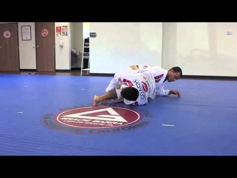 San Clemente JiuJItsu Coach Kanai Leg-Lock from Closed Guard