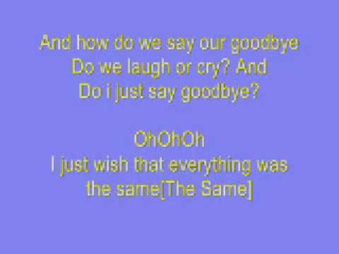 Savannah Outen Goodbye Lyrics