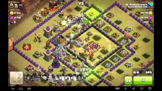 getlinkyoutube.com-[COC] todayhumor 2nd 클랜 10홀 올마녀 완파