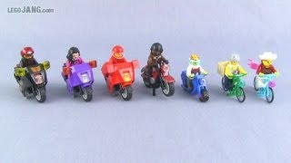 getlinkyoutube.com-LEGO custom bikes & bikers July 6, 2013