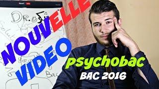 Amine tefaha - PsychoBac ( Bac 2016 )