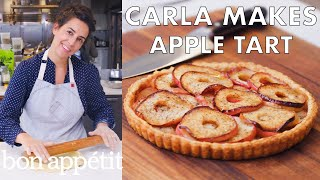 Carla Makes An Apple Tart   From The Test Kitchen   Bon Appétit