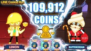 getlinkyoutube.com-CookieRun 109,912 Coins : Lemon+CoinScale เลม่อนก็เก็บเงินได้เยอะนะจ๊ะ | xBiGx