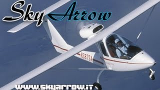 getlinkyoutube.com-Sky Arrow, Sky Arrow light sport aircraft, SkyArrow LSA from Magnahi, at AERO-EXPO  Friedrichshafen