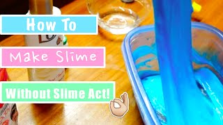 getlinkyoutube.com-Cara Membuat Slime Tanpa Slime Act!