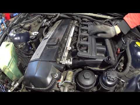 Снятие впускного коллектора BMW m52tu/m54