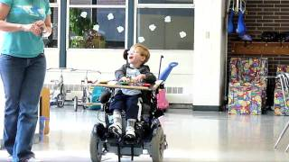getlinkyoutube.com-Zak trying out a power chair