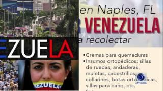 Crisis en Venezuela. Lista de Insumos para enviar al país