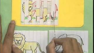 HIDE AND SEEK - A  PAPER MODEL - HINDI - ARVIND GUPTA