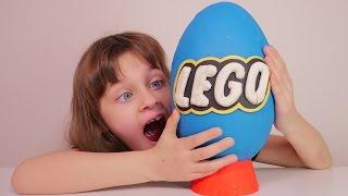 [JOUET] Oeuf Géant en Play Doh Lego - Studio Bubble Tea Unboxing Giant Lego egg