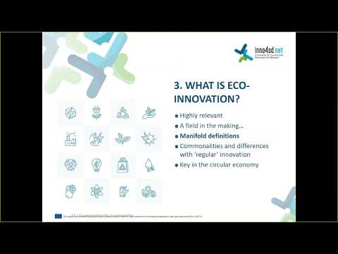 Eco-Innovation for Sustainablity: Examples from the Agro-Food Sector