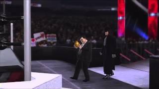 WWE 2K15 PS3 DLC Entrance Undertaker '91 with Paul Bearer