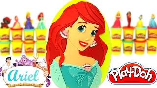 getlinkyoutube.com-Prenses Ariel Sürpriz Yumurta Oyun Hamuru - Barbie LPS Emojiler