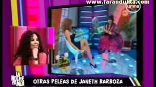 getlinkyoutube.com-La Noche Es Mia 18-11-2011 Otras peleas de Janet Barboza