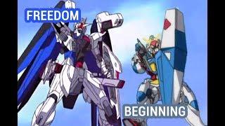 Freedom vs Beginning Gundam