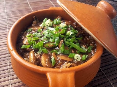 Pot Mushroom Rice