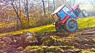 getlinkyoutube.com-IMT 539 izvlacenje kamena , profesionalac za traktor , tractor and rock