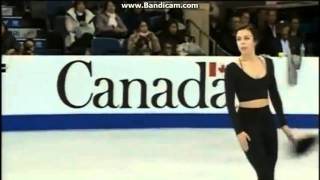 getlinkyoutube.com-Ashley Wagner 2015 Skate Canada First Practice