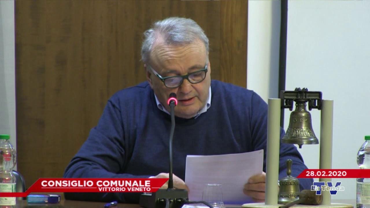 CONSIGLIO COMUNALE VITTORIO VENETO - Seduta del 28.02.2020