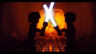getlinkyoutube.com-Lego Star Wars Ep. III Anakin Skywalker vs. Obi-Wan Kenobi
