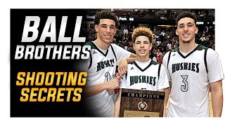 getlinkyoutube.com-Ball Brothers Shooting Secrets: Lonzo | LiAngelo | LaMelo