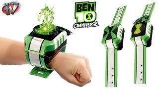 BEN 10 OMNIVERSE Omnitrix Shuffle Watch Aliens TOYS Video Review Episode