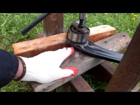 Ситроен С4, замена сайлентблоков переднего рычага