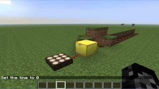 getlinkyoutube.com-Guia Minecraft - Como usar el Sensor de luz - Minecraft