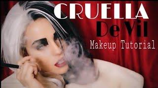 Once Upon A Time   Cruella De Vil Makeup Tutorial